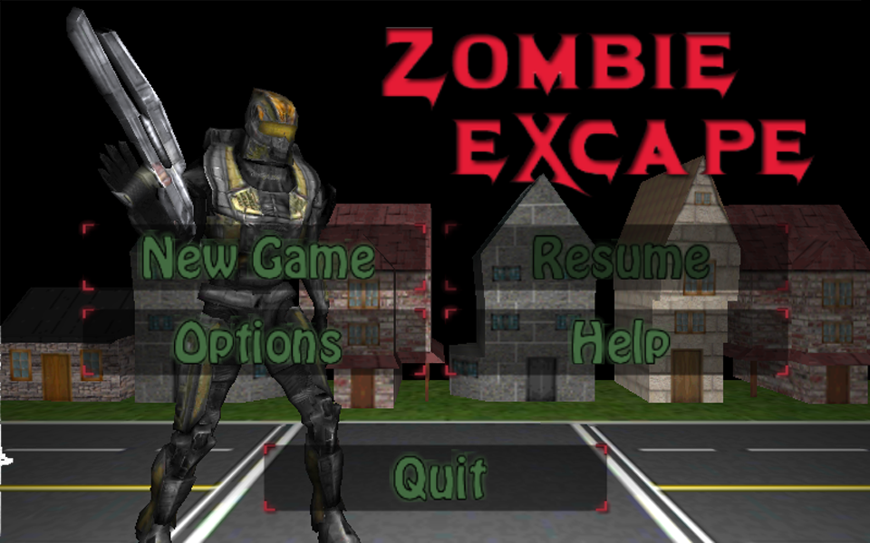 Screenshot Zombie EXcape v1.0