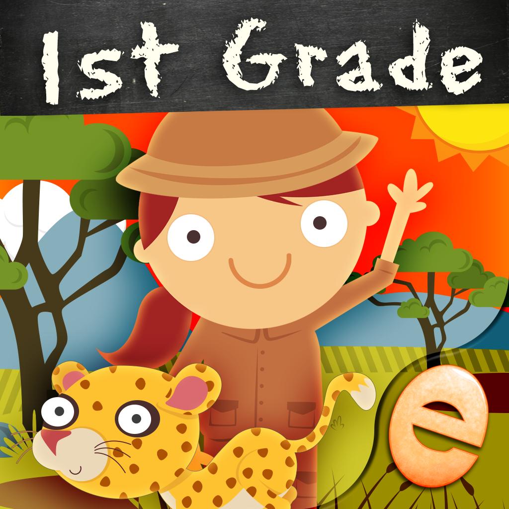 Animal First Grade Math Games for Kids